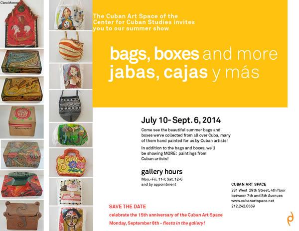 bags, boxes and more / jabas, cajas y más