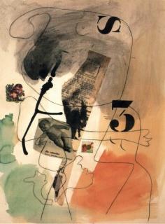 Joan Miró, Métamorphose, 1936