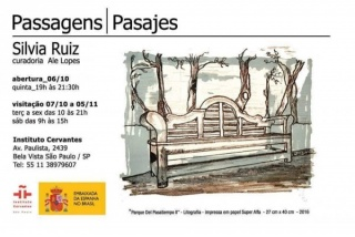 Silvia Ruiz, Passagens | Pasajes