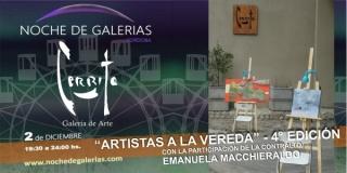 Artistas a la Vereda 4º Edición