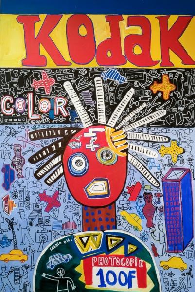 SAADIO | Kodak | 2016 | 150cm  x 100cm | Acrílico sobre tela