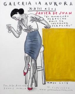 Javier de Juan. El movimiento perfecto hace el instante perfecto