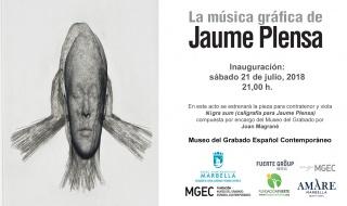 La música gráfica de Jaume Plensa
