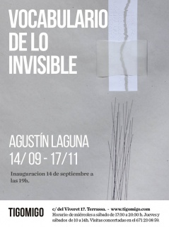 Agustín Laguna. Vocabulario de lo invisible