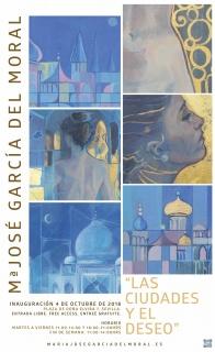 Mª José García del Moral. Las ciudades y el deseo