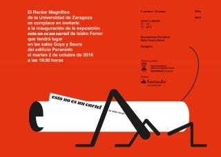Isidro Ferrer. Esto no es un cartel