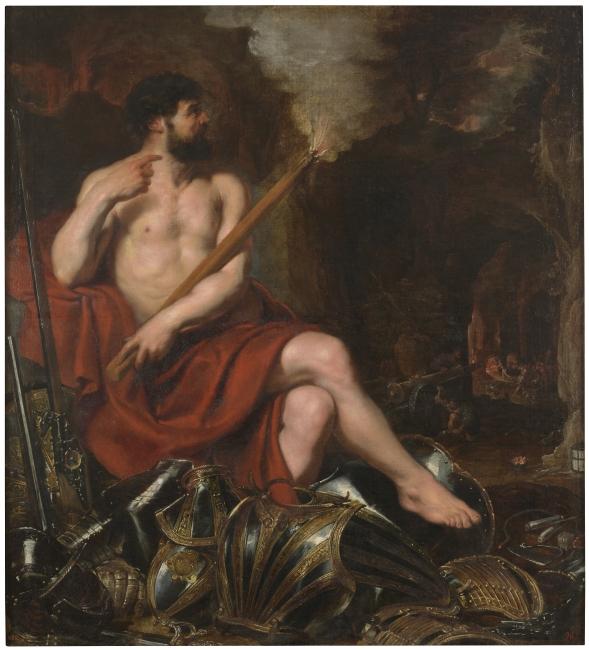 Vulcano y el fuego, Pedro Pablo Rubens. Óleo sobre lienzo, siglo XVII © Museo Nacional del Prado — Cortesía del Museo Nacional del Prado