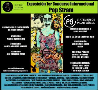 Exposición Concurso de Pop Stram - Pilar Güell