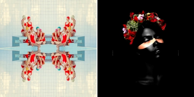 Red Pool, Symmetry, 2017 / March in December, 2016