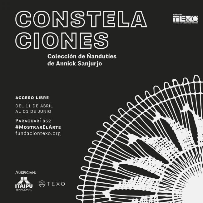 CONSTELACIONES. Colección de ñandutíes de Annick Sanjurjo