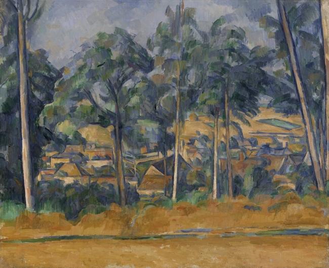 Cezanne. Cortesía del Guggenheim