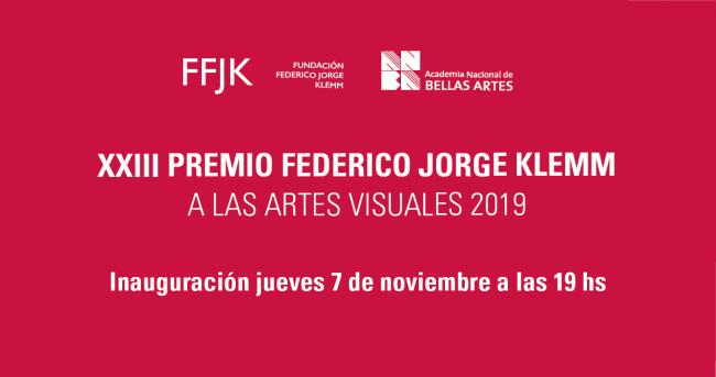 XXIII Premio Federico Jorge Klemm
