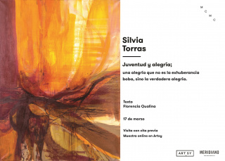 Silvia Torras. Juventud y alegría; una alegría que no es la exuberancia boba, sino la verdadera alegría