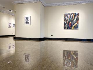 Vista de Urbs, la exposición individual de Miguel Ángel Iglesias