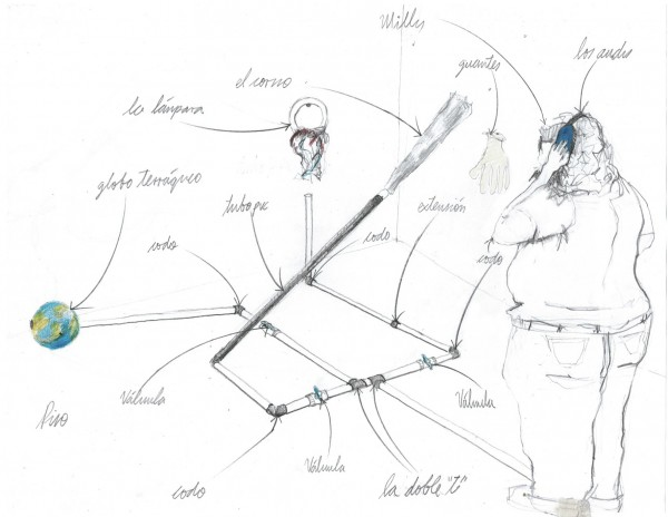 Yance y Bonfanti, Boceto Tubos -premio Eugenio Mendoza-