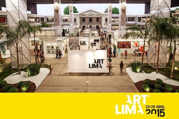Cartel de Art Lima 2015