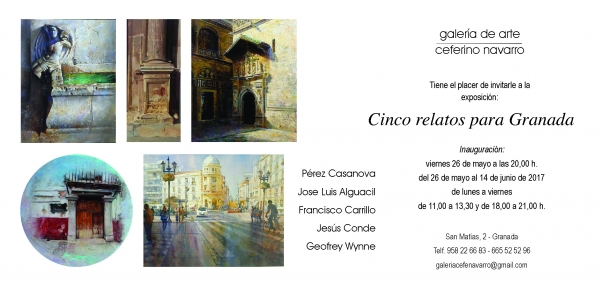 Cinco relatos para Granada