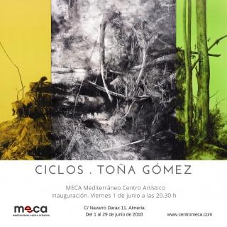 Exposición Ciclos de Toña Gómez en MECA