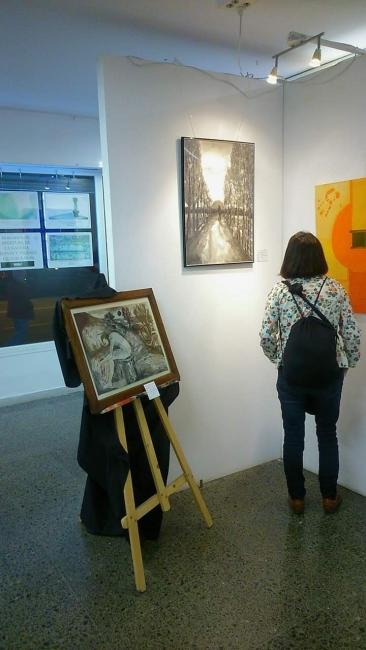 Una. Imágen de la exposición inaugurada