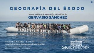 Gervasio Sánchez. Geografía del Éxodo