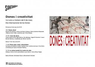 Dones i creativitat. Jornades a l'entorn del 8 de març