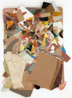Hans Andersson, UNTITLED, 2013-2014. Técnica mixta, 29.5 x 21 cm. — Cortesái de F2 Galería