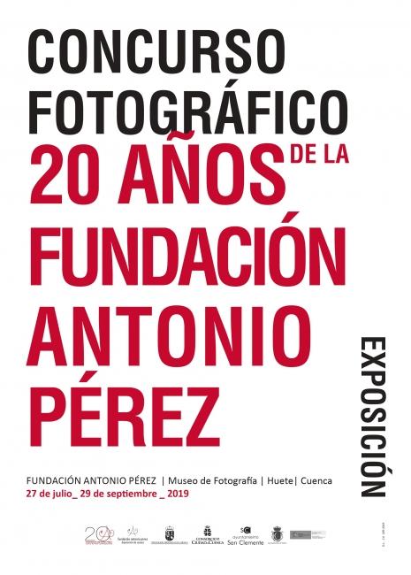 Concurso Fotográfico 20 años de la Fundación Antonio Pérez