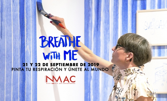 Breathe with me by Jeppe Hein