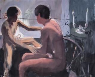 João Gabriel, Untitled, 2019. Oil on canvas. 150 x 160 cm