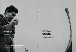 Moisès Villèlia. Fustes. 1954-1992