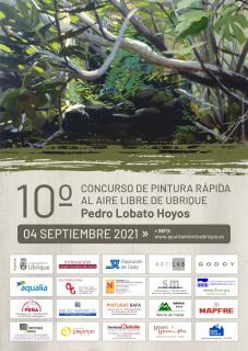 Cartel 10º Concurso de Pintura Rápida de Ubrique