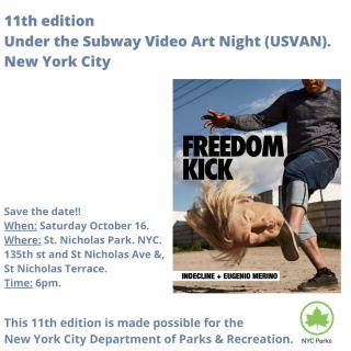 11th Under the Subway Video Art Night (USVAN)