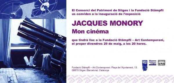 Jacques Monory, Mon cinéma