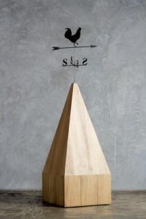 Cynthia Gutiérrez, Sweet Chaos, 2010. Hierro y madera