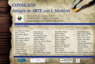 Amigos de Arte con I. Monfort