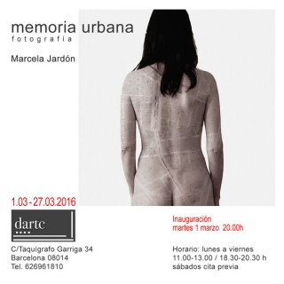 Marcela Jardón, Memoria urbana