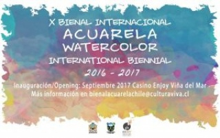 X Bienal Internacional de Acuarela de Viña del Mar