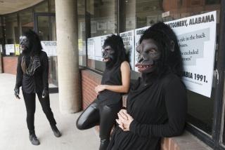 Guerrilla Girls no Abrons Art Center, em Nova York, 2015. Cortesía del MASP