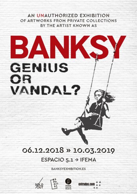 BANKSY. Genius or Vandal?