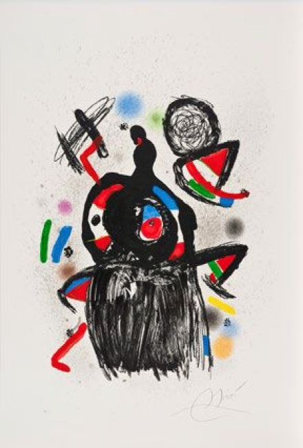 Joan Miró — Cortesía del Gremi de Galeries d'Art de Catalunya