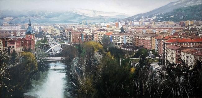 Raúl Gil, Vista desde la Taconera — Cortesía de la Galería Michel Menendez