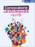 Convocatoria de Estímulos 2019