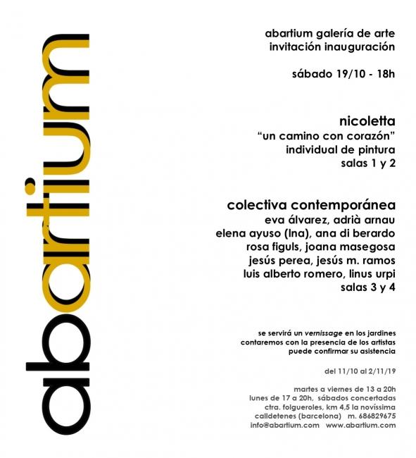 Invitación Abartium octubre 19