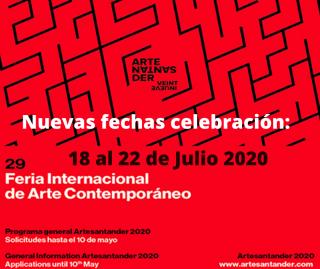 Nuevas Fechas ArteSantander 2020