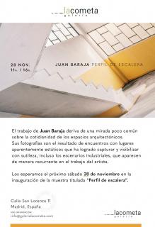 Juan Baraja. Perfil de escalera