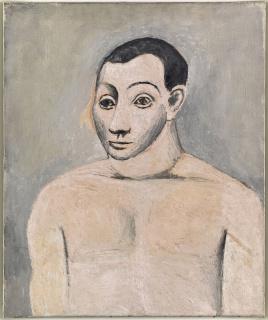 Pablo Picasso. Autoportrait, 1906 — Cortesía de la Fundación Botín