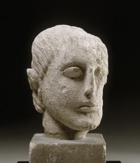 Pablo Picasso. Tête masculine — Cortesía de la Fundación Botín