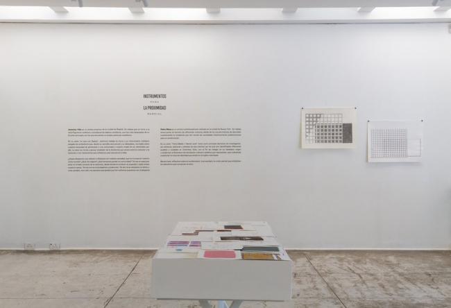 Jerónimo Villa. Instrumentos para la proximidad parcial — Cortesía de la galería La Cometa