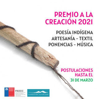 Premio a la Creación 2021