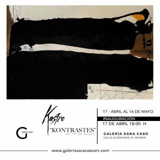 Exposición Kontrastes. Galería Sara Caso. Artista: Kastro